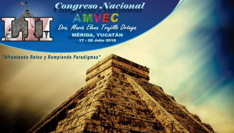 LII Congreso Nacional AMVEC 2018