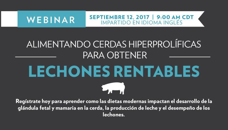"""Novus Webinar """"Alimentando Cerdos Hiperprolíficos para Lechones Rentables"""""""