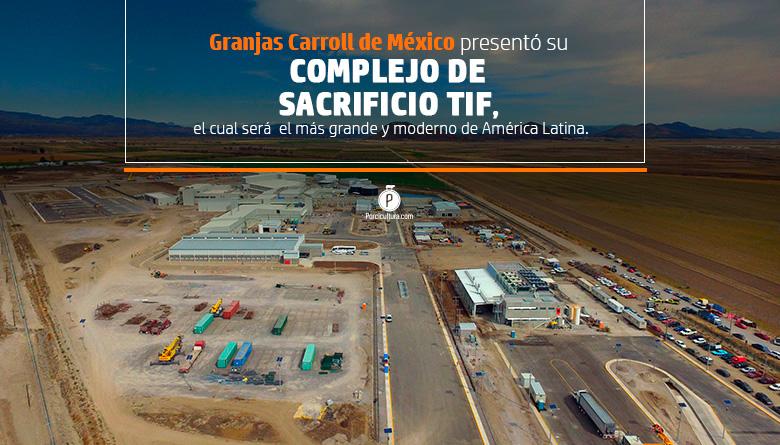 Presentó Granjas Carroll su primera planta TIF con una capacidad de procesamiento de 600 cerdos por hora