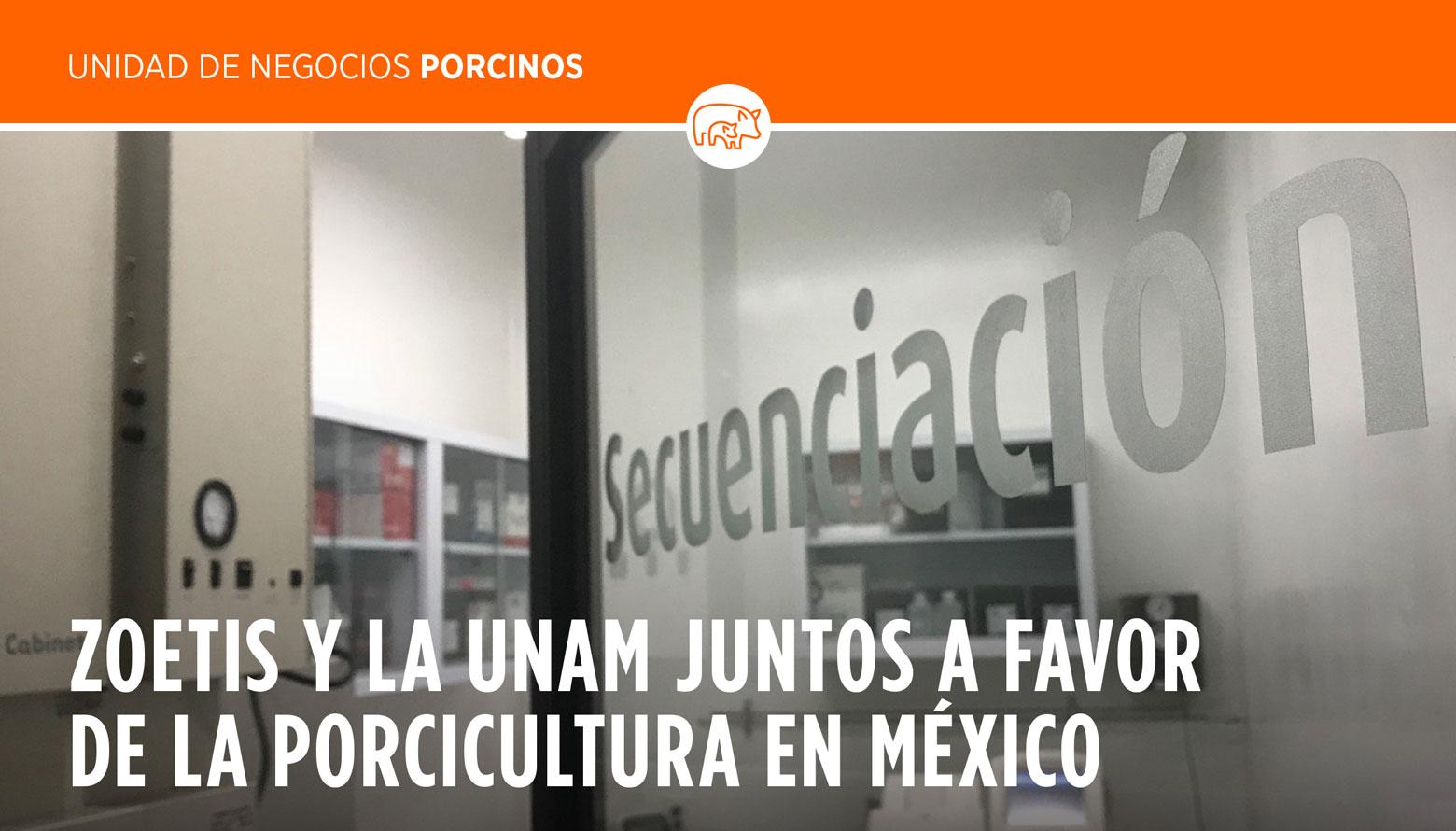 ZOETIS y la UNAM juntos a favor de la porcicultura en México