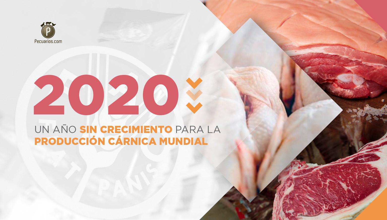 La producción cárnica en el mundo ha sabido paliar los efectos de la Covid 19 y mantuvo su producción en 2020: resumen de la FAO
