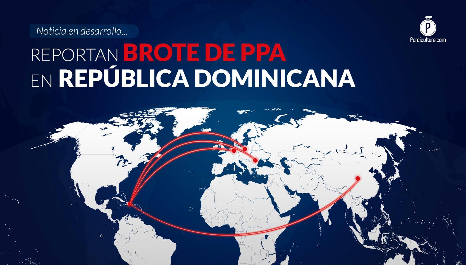 <p>La PPA llegó a El Caribe, el USDA confirmó la presencia del virus en República Dominicana</p>