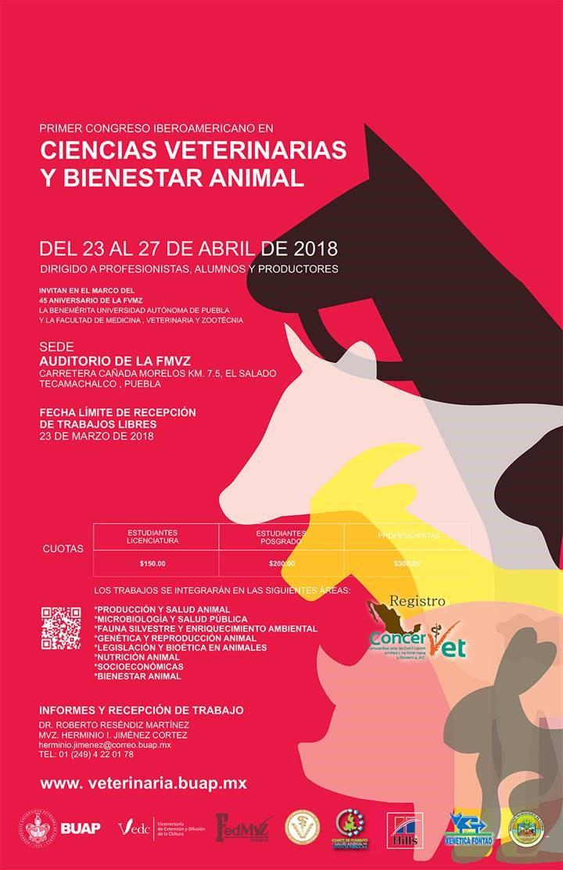 Resultado de imagen para Primer Congreso Iberoamericano en Ciencias Veterinarias y Bienestar Animal